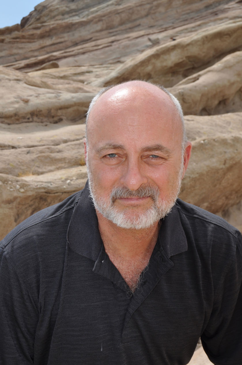 Author and futurist David Brin Portrait
