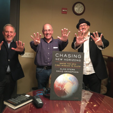 Alan Stern, Mat Kaplan, and David Grinspoon