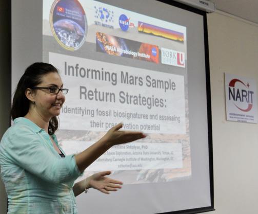 My presentation at NARIT on December 26, 2016