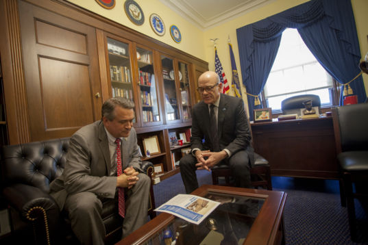 Making the pitch for the Planetary Science Caucus