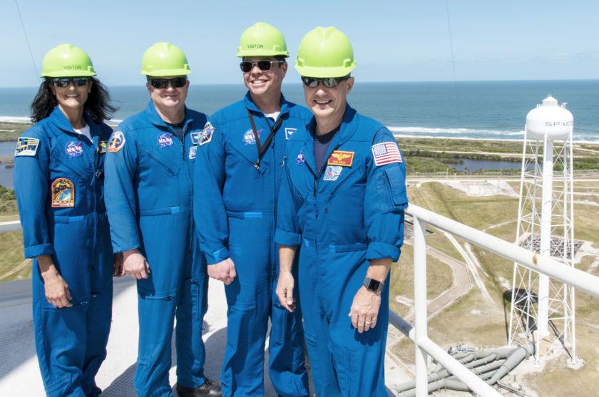 NASA's commercial crew astronauts