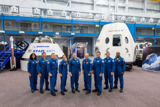 The first commercial crew astronauts