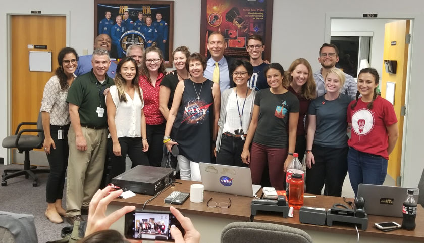 Members of the Parker Solar Probe team