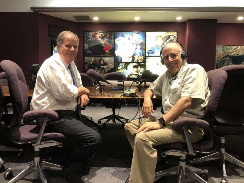 The Honorable Senator Doug Jones of Alabama with Planetary Radio host Mat Kaplan