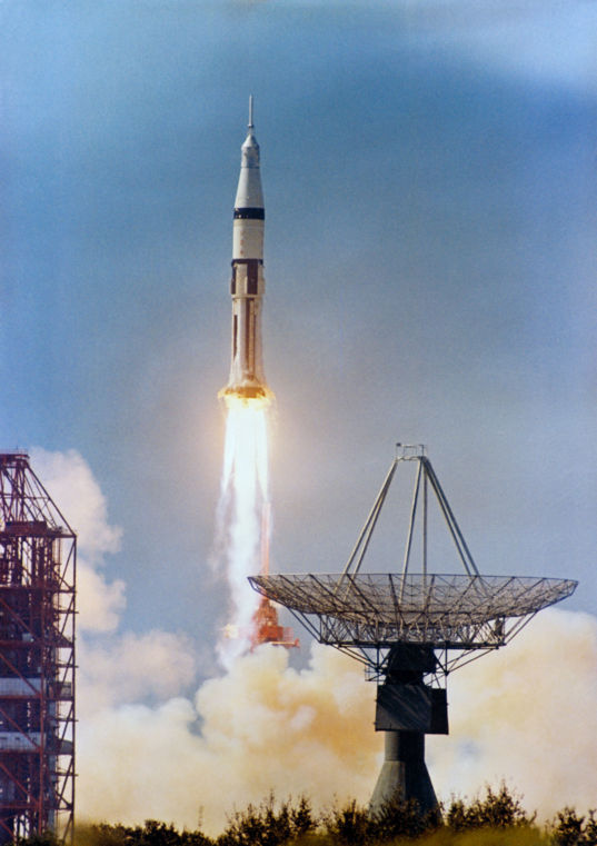 Apollo 7 launch