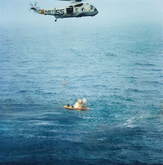 Apollo 7 recovery
