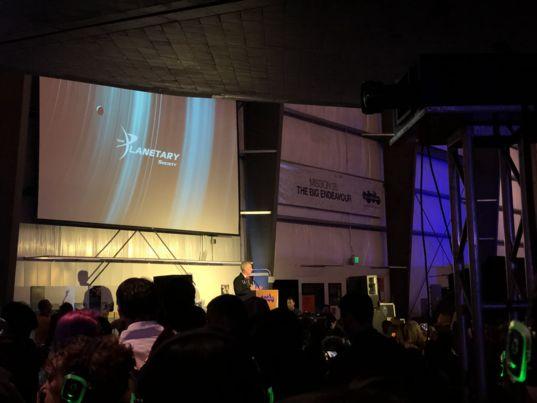 Planetary Society CEO Bill Nye speaking for 2019 Yuri's Night in LA
