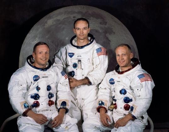 Apollo 11 crew portrait