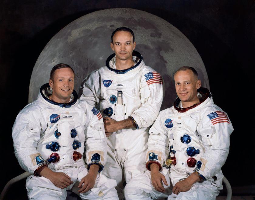 Apollo 11 crew portrait