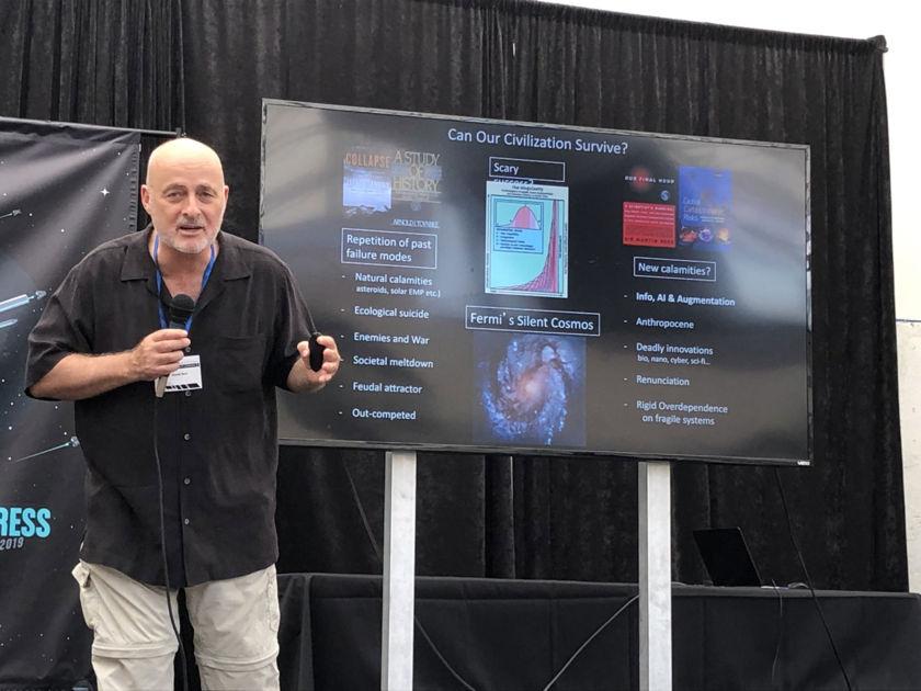 David Brin at the 2019 Starship Congress