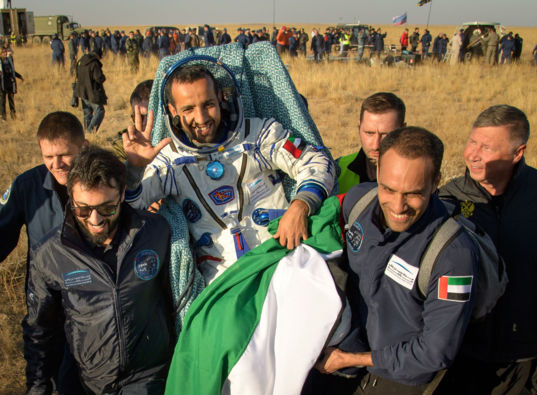 The First Emirati Astronaut