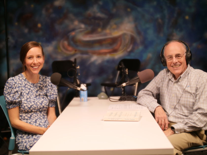 Sasha Sagan and Mat Kaplan at The Planetary Society