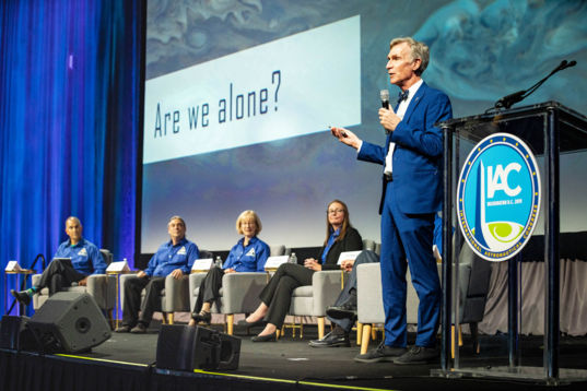 Bill Nye at IAC 2019