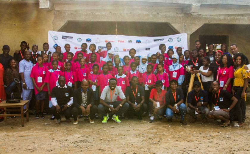 2019 Nigerian Girls Astronomy Camp