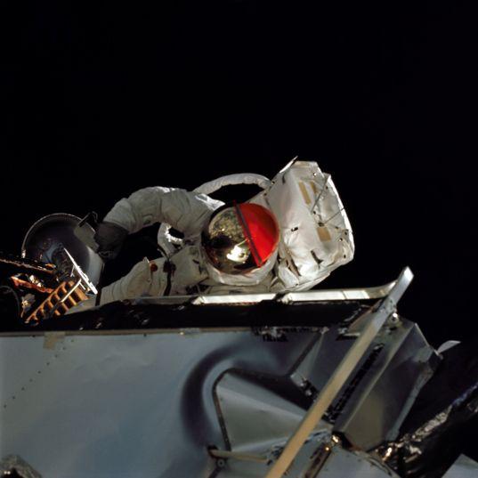 Russell L. Schweickart Apollo 9 EVA