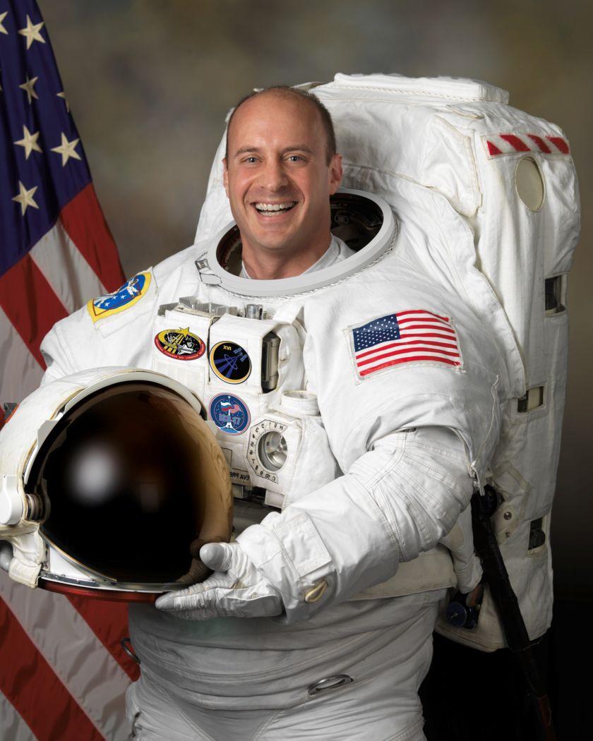 Astronaut Garrett Reisman