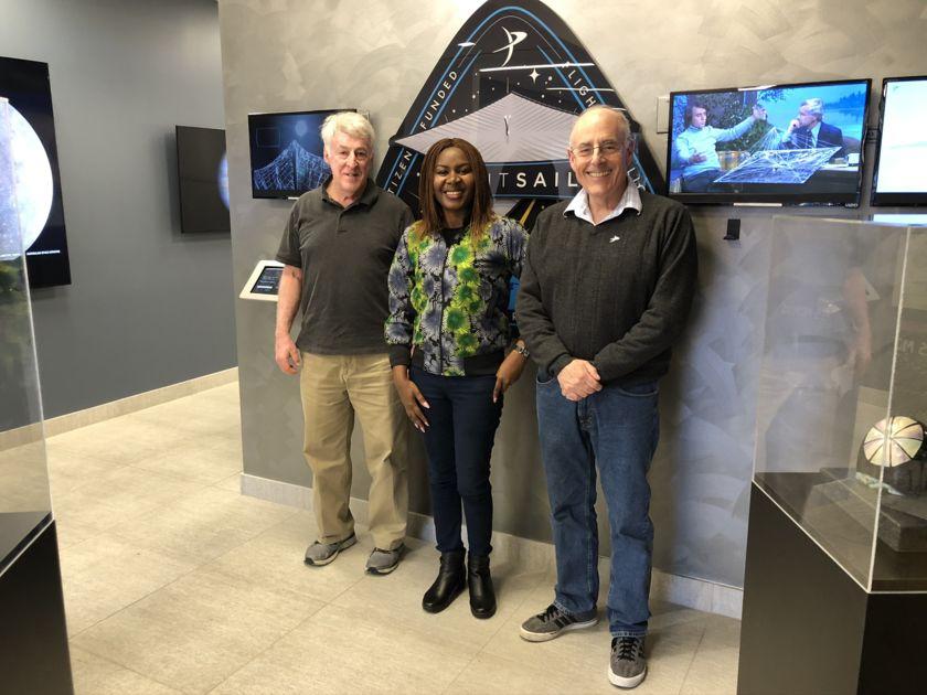 Mike Simmons, Olayinka Fagbemiro, and Mat Kaplan