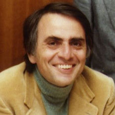 Carl Sagan Head Shot