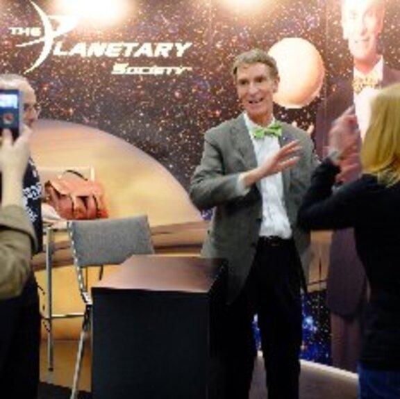 Bill Nye at the USA Science and Engineering Fair, April 27, 2012 head shot