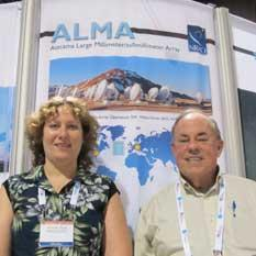 Alison Peck and Al Wooten of ALMA Radio Telescope Project head shot