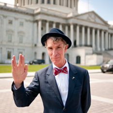 Bill Nye Spock Hands head shot
