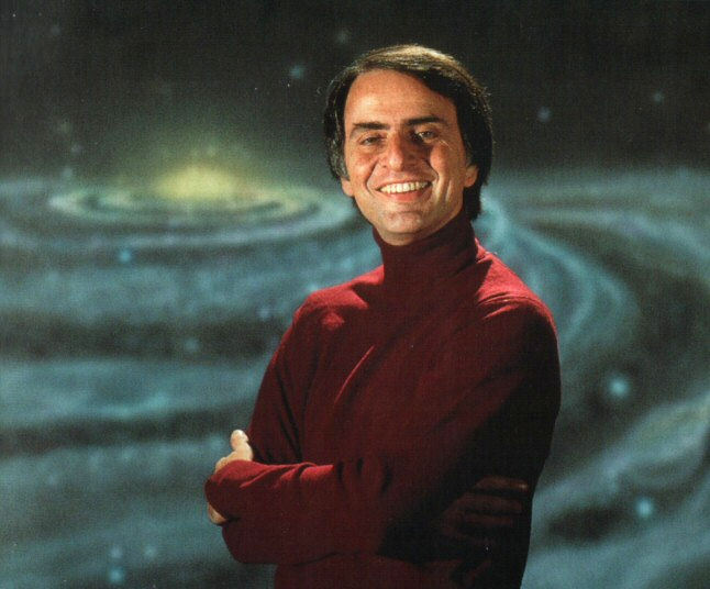 Carl Sagan head shot