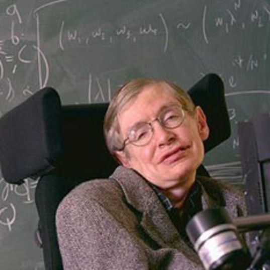 Stephen Hawking head shot