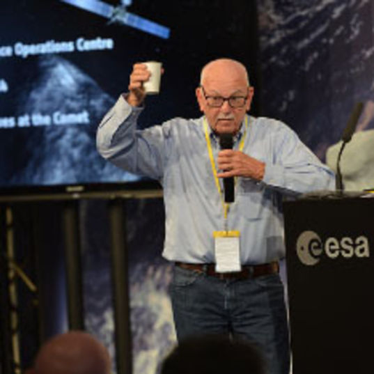 Samuel Gulkis, credit ESA - S. Bierwald head shot