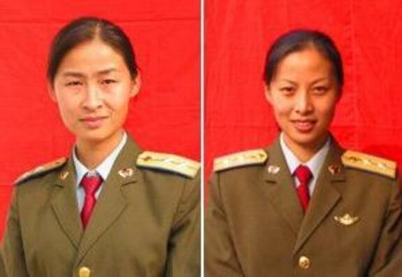 China's first female taikonauts head shot