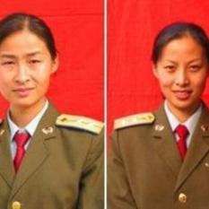 China's first female taikonauts head shot