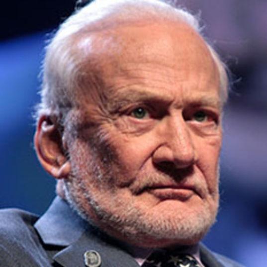 Buzz Aldrin head shot