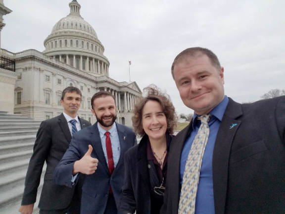 2018 Legislative Blitz Selfie