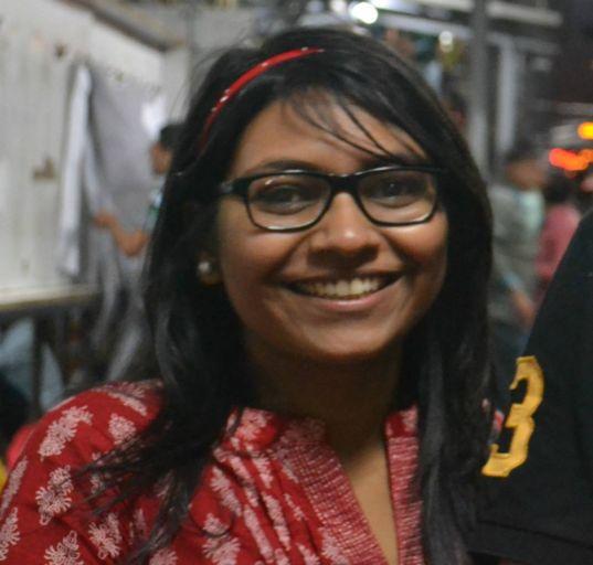Sriparna Saha head shot