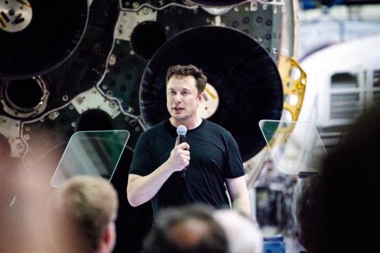 Elon Musk Head Shot