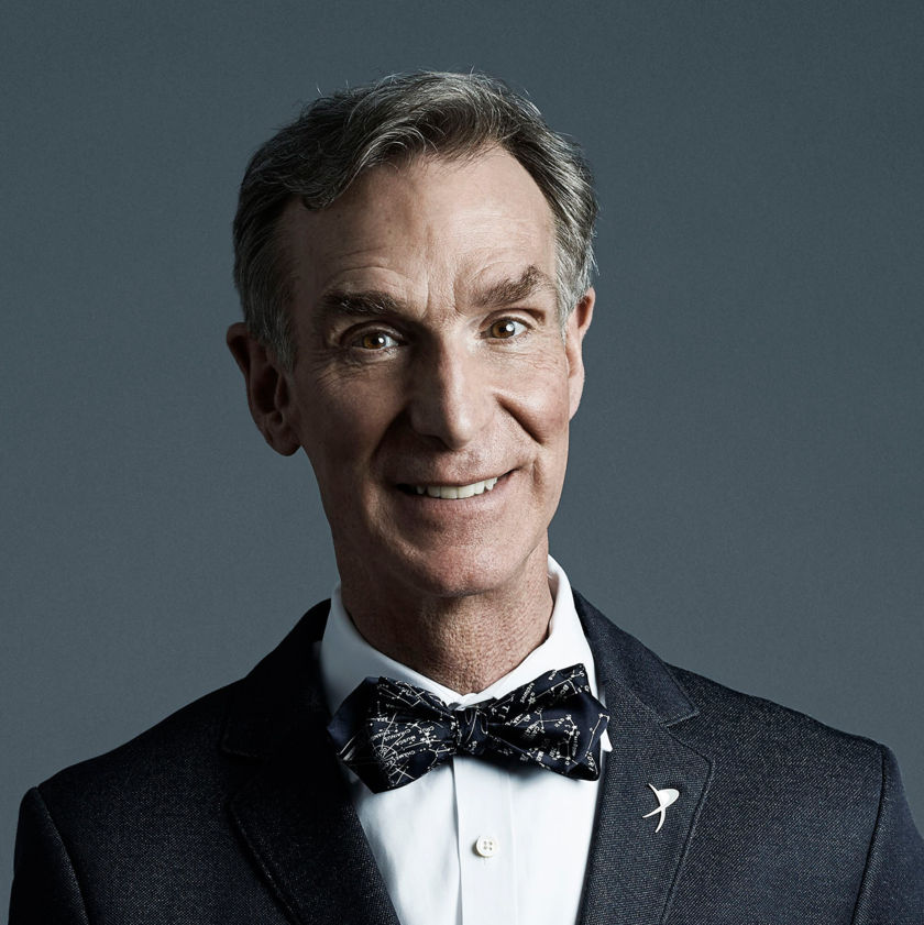Bill Nye headshot head shot