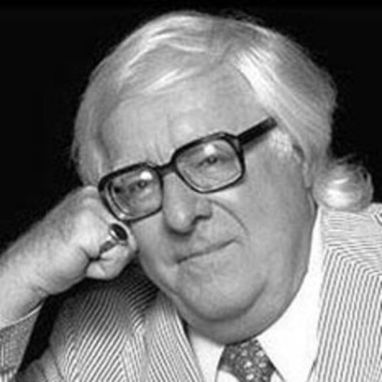 Ray Bradbury, 1920-2012 head shot