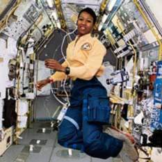 Mae Jemison In Space head shot