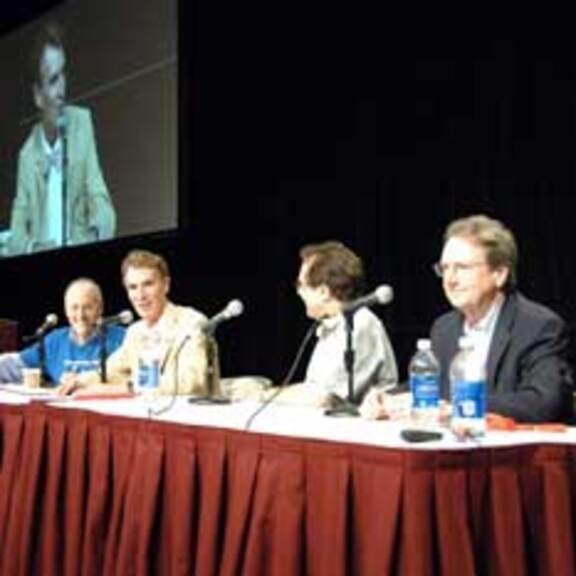 Planetary Radio Live Panel at Planetfest 2012 head shot
