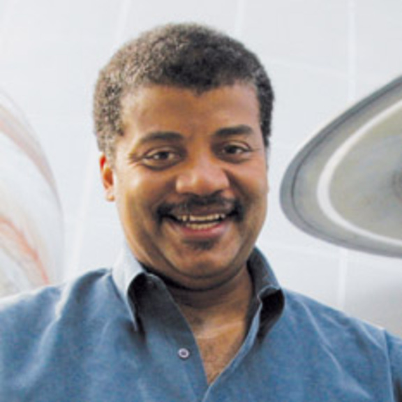 Headshot of Neil DeGrasse Tyson