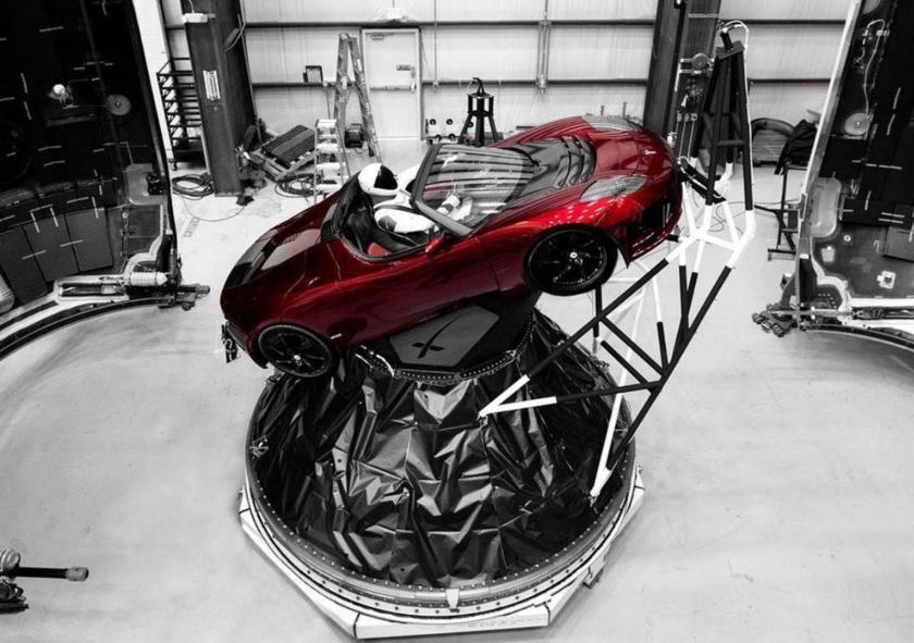 Let's talk about Elon Musk launching his Tesla into space