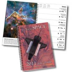 Year in Space 2011 desk calendar
