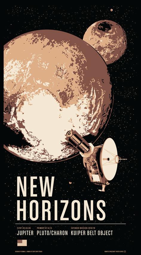 ChopShop Store New Horizons print