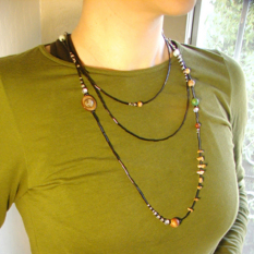 Laura Cesari's Solar System Necklace
