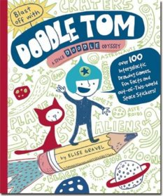 Blast Off with Doodle Tom, by Elise Gravel