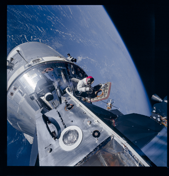 Apollo 9 EVA photograph