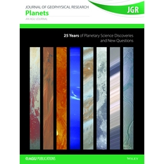 JGR Planets 25th anniversary cover