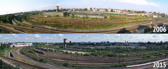 New Horizons Time Capsule: Nine Years of Change at Hamburg, Germany