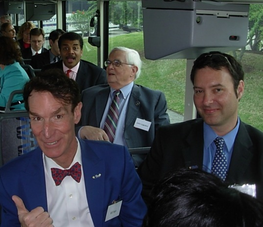 On the Bus to the Space Conference