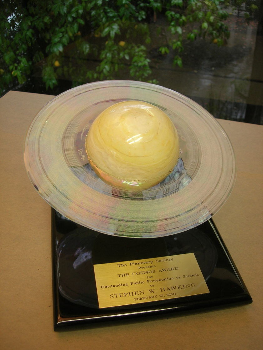 The Cosmos Award for Outstanding Public Presentation of Science