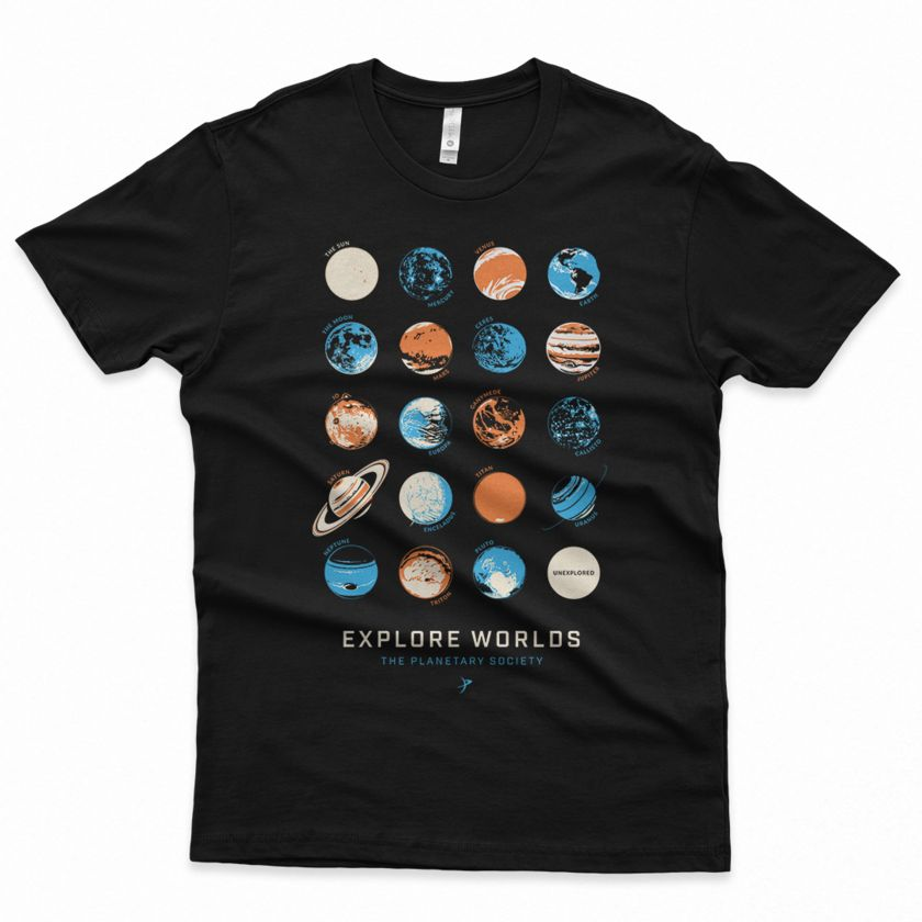 New Planetary Society T-Shirt